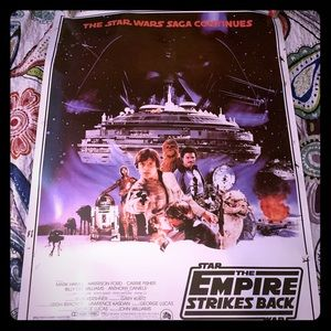 Star Wars The Empire Strikes Back Poster -1996